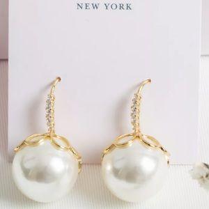 Kate Spade ♠️ NWT Pearl Drop Earrings